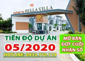 Cổng chào dự án Bella Villa