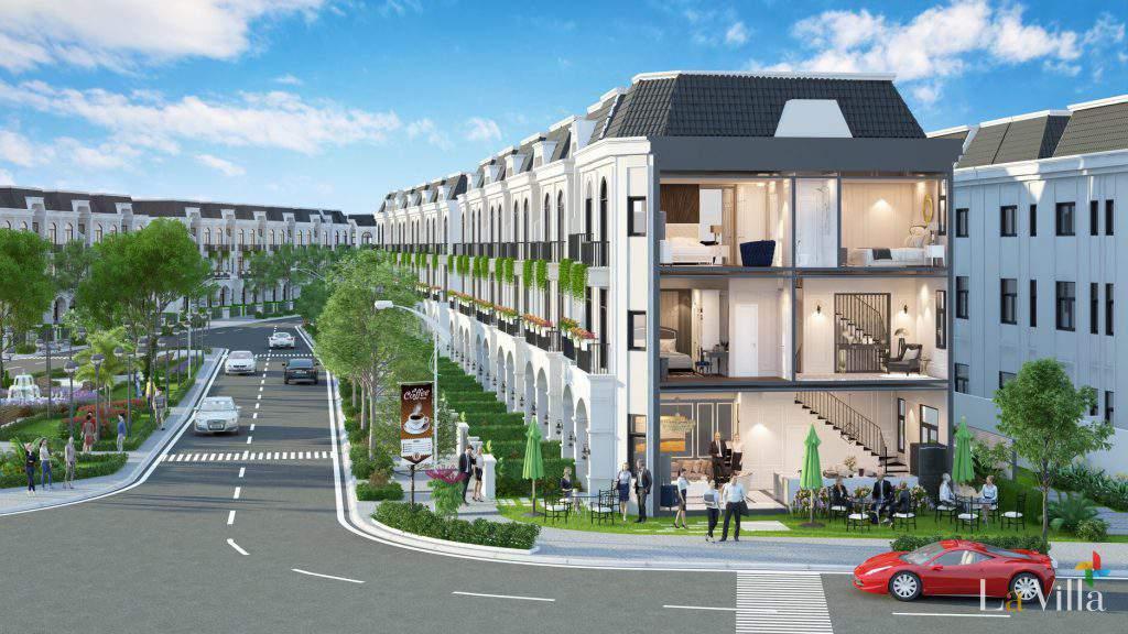 Dự án nhà Lavilla Green City Trần Anh – Đồng Tâm, TP.Tân An