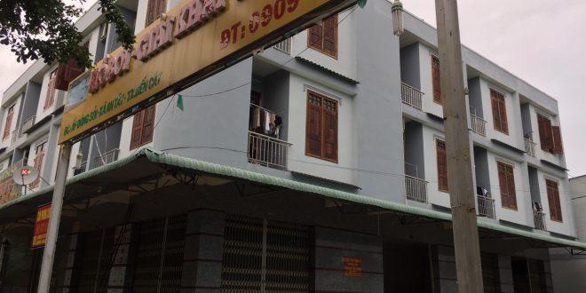 Bán khách sạn đang kinh doanh ngay cổng khu công nghiệp Quốc Tế PRO TRADE Bến Cát, chợ Dòng Sỏi đường Nguyễn Chí Thanh (ĐT 744), xã An Tây, thị xã Bến Cát.