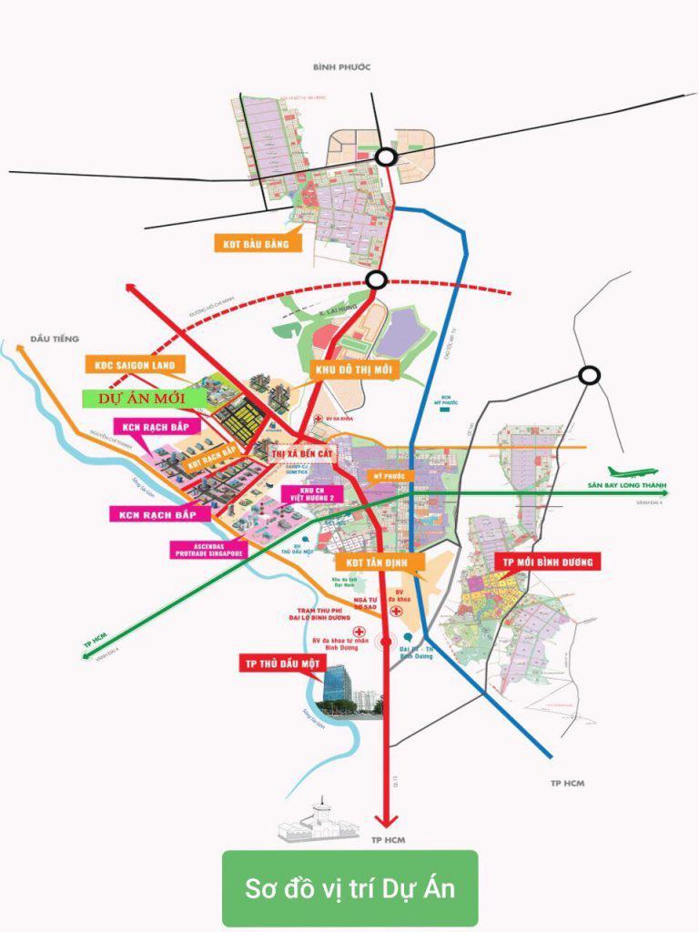 ĐấtBàuBàngxãLongNguyêngiá rẻ 900km2 đường 5m - đối diện Khu quy hoạch công nghiệp SKC