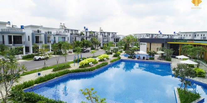 Biệt thự nghỉ dưỡng Bella Villa Đức Hòa – Trần Anh Group [Mở bán đợt cuối – Giao Nhà – Giao Sổ]