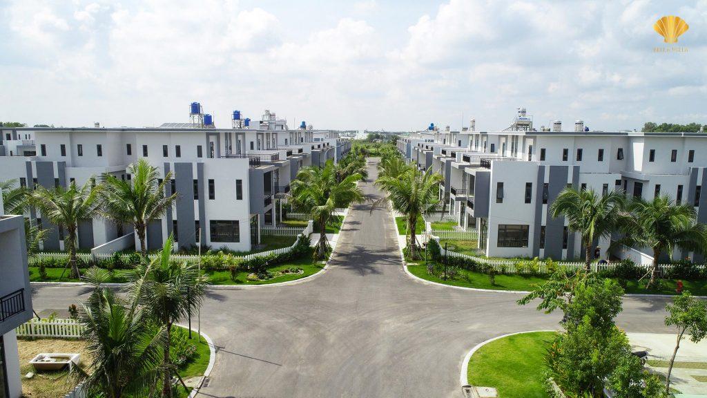 Cơ sở hạ tầng khu đô thị thương mại sinh thái Bella Villa được quy chuẩn đồng bộ hóa theo hướng khu đô thị xanh