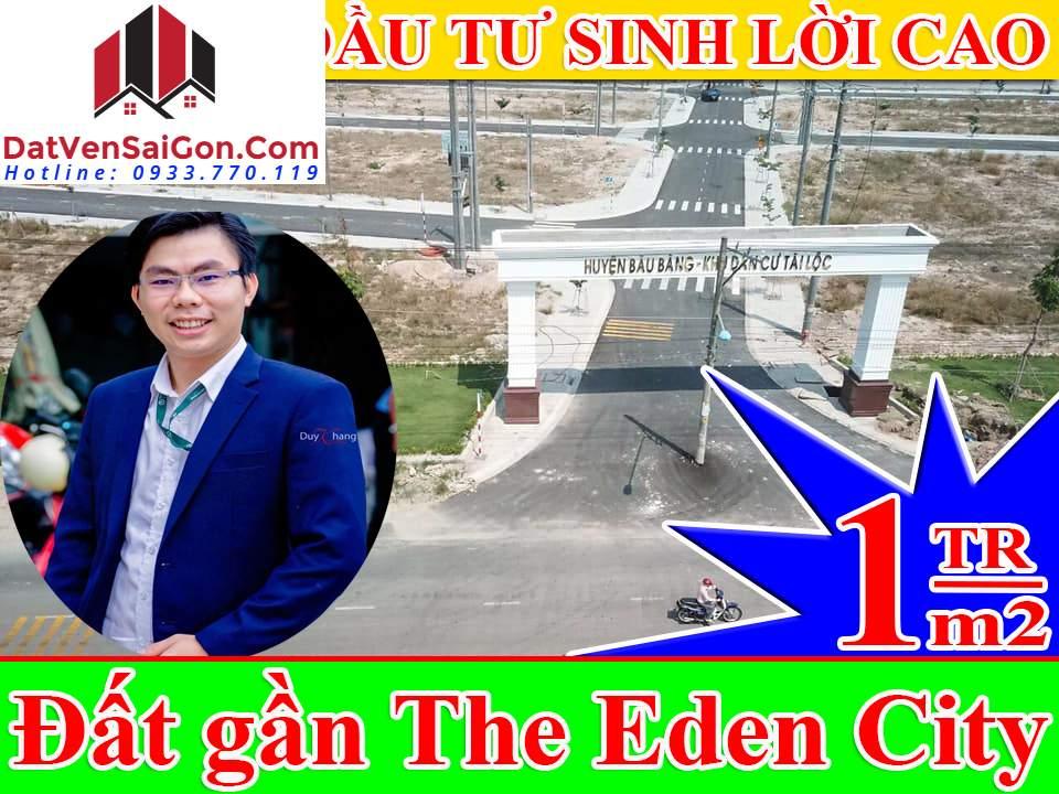 Bán đất gần Dự án The Eden City Mặt tiền đường DH 619 thuộc xã Long Nguyên, huyện Bàu Bàng