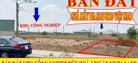 BÁN ĐẤT KHU CÔNG NGHIỆP ĐỨC HOÀ 3 DỰ ÁN VISTA LAND ĐỐI DIỆN VINGROUP 6100 HA GẦN CẦU VƯỢT CỦ CHI TL8
