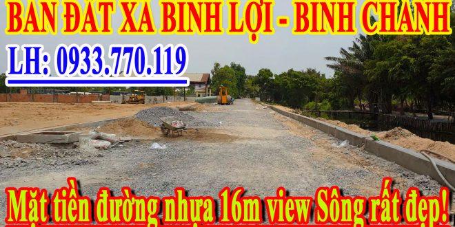 Khu dân cư Bình Lợi Town, Tỉnh lộ 10, xã Bình Lợi, huyện Bình Chánh, TP.HCM