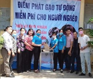 """Máy """"ATM gạo"""" miễn phí ở Bình Dương sẽ được lắp đặt tại trụ sở UBND Phường Mỹ Phước ngày 03/05/2020"""