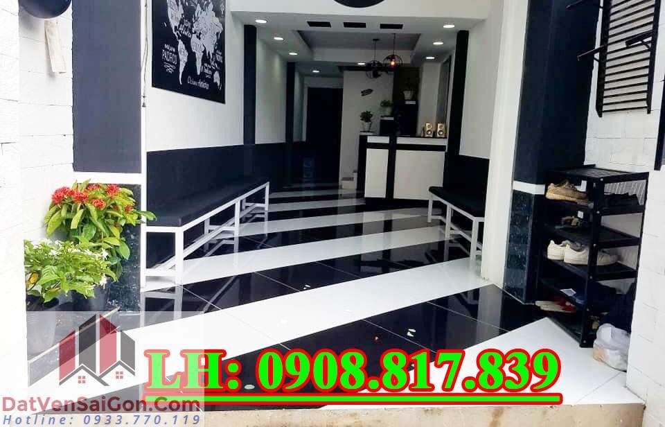 Bán nhà hẻm Cống Quỳnh, Nguyễn Cư Trinh, Quận 1 để làm hotel, homestay, khách sạn,...