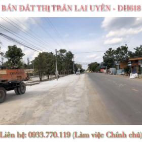 Đất mặt tiền đường nhựa 8 mét cách đường nhựa DH618 chỉ 50m gần trường học tt Lai Uyên